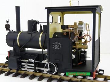 Echtdampf - Feldbahnlokomotive