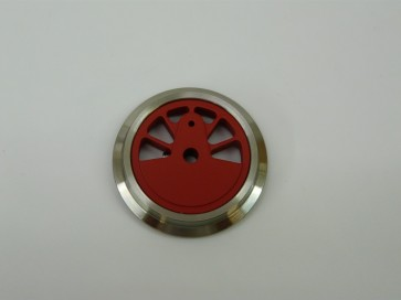 Kuppelrad / Treibrad für Echtdampflok 996101 / 996102, CNC-gefräst