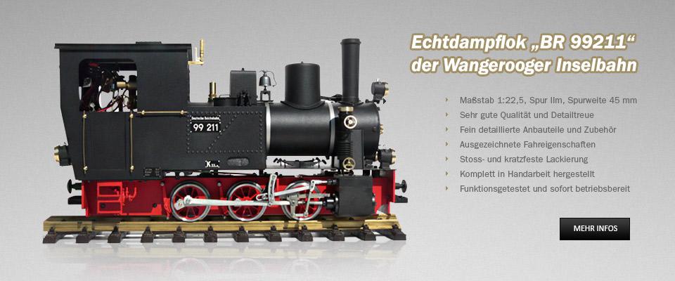 Echtdampflok BR 99211