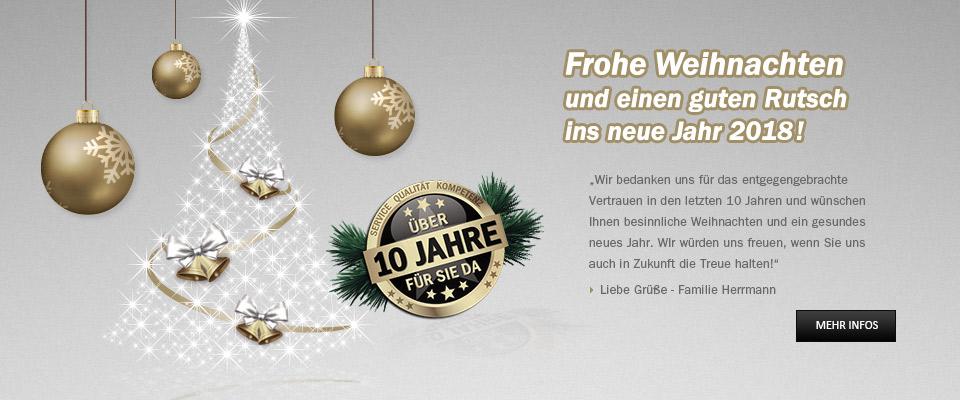 Frohe Weihnachten - HERRMANN ECHTDAMPF