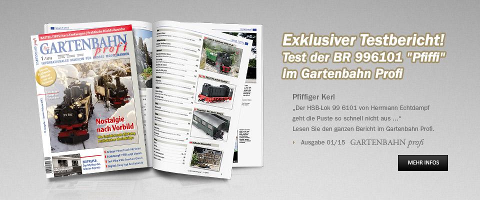 Testbericht Echdampflok BR 996101