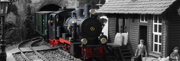 Lokomotiven - M 1:22,5