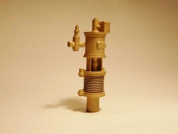 Luftpumpe 52mm, Messingguss