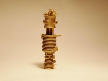 Luftpumpe 58mm, Messingguss