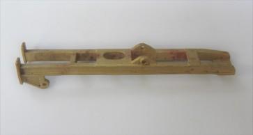 Träger, Zylinder-Gleitbahnhalter rechts, VIIK, Messingfeinguss