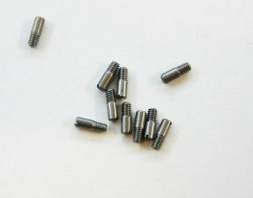 Schaftschraube mit Kegelkuppe und Schlitz, DIN 427, M 2 x 6