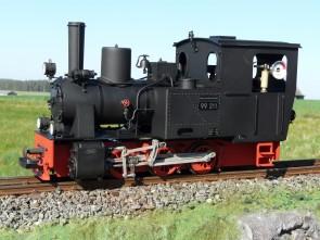 Echtdampflok BR 99211, jetzt noch feiner detailiert !!